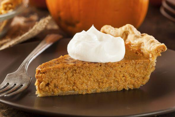 Tip: saborea un delicioso pumpkin pie, ¡uno de los postres favoritos par...