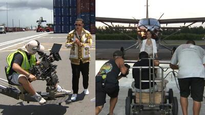 'Behind the Scene' en el rodaje del video 'Buena Vida' de Daddy Yankee y Natti Natasha