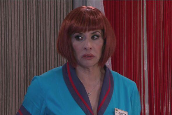 Anita llegó con Cipriano para decirle que tenía que hablar con él muy se...