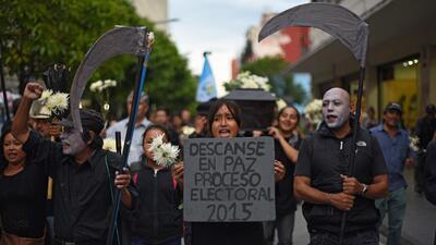 Histórica participación electoral y social en Guatemala