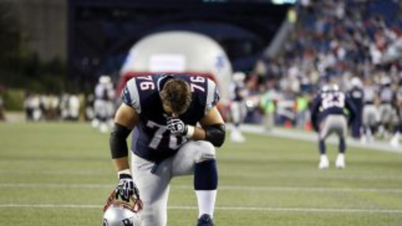 Nate Solder es vital en la ofensiva de los Patriots (AP-NFL).
