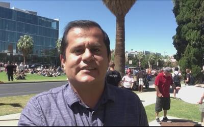 Residentes en Phoenix son testigos del eclipse solar