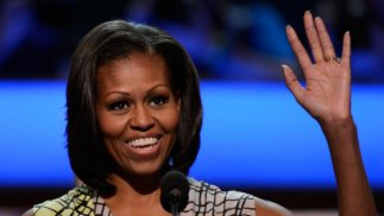 Michelle Obama hablará ante unos 6 mil delegados demócratas que llegaron...