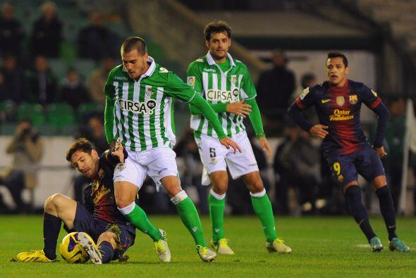 Betis no fue un simple espectador y respondió con gol de Rubén Castro pa...