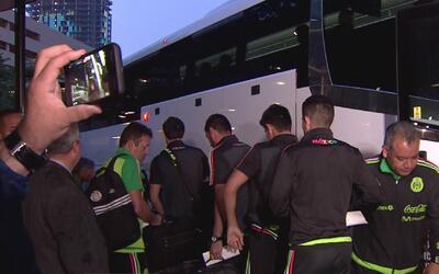 La Selección de México llega a Houston y se prepara para el duelo amisto...
