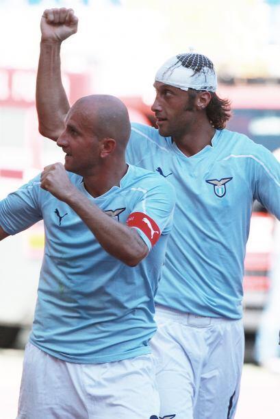 La Lazio pudo ganar con facilidad 3-1 al Bolonia con goles de Brocchi, M...