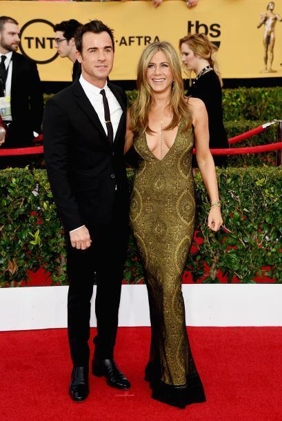 Jennifer Aniston durante los Screen Actors Guild Awards.