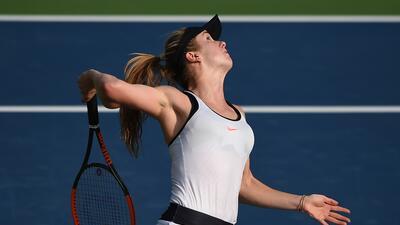 La belleza se tomó las canchas en torneo de tenis femenino en Dubai