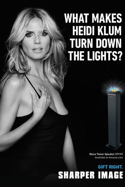 """""""¿Qué hace que Heidi Klum apague la luz?""""."""