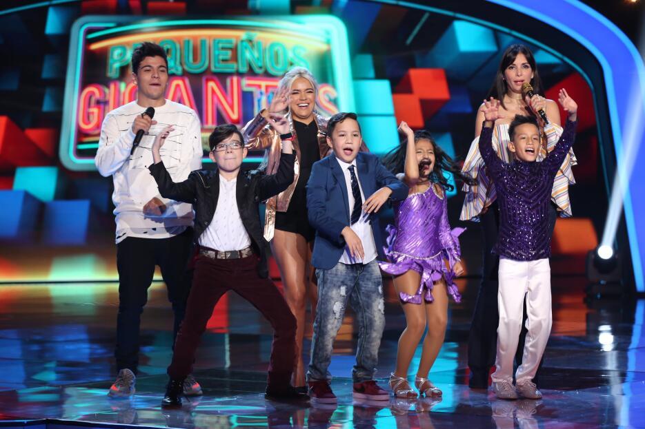 Las mejores fotos del cuarto show de Pequeños Gigantes USA.