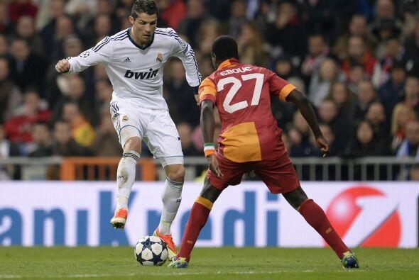 El Madrid siguió dominando y no bajó el acelerador en la primera parte.