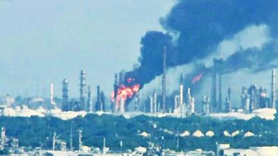 Explosión de refinería en Texas City