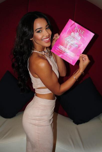 Carolina Peguero de República Dominicana, audicionó en Houston. Ella es...