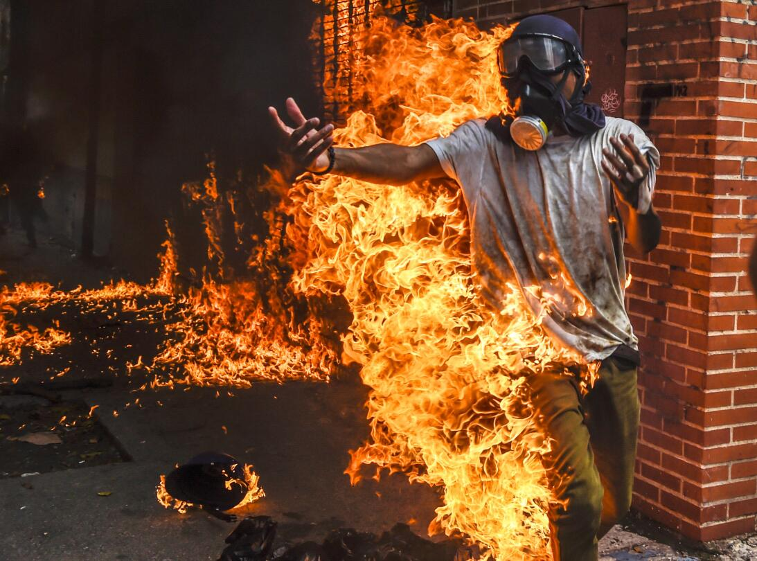 In photos:  Violence and repression in Venezuela reaches shocking new le...
