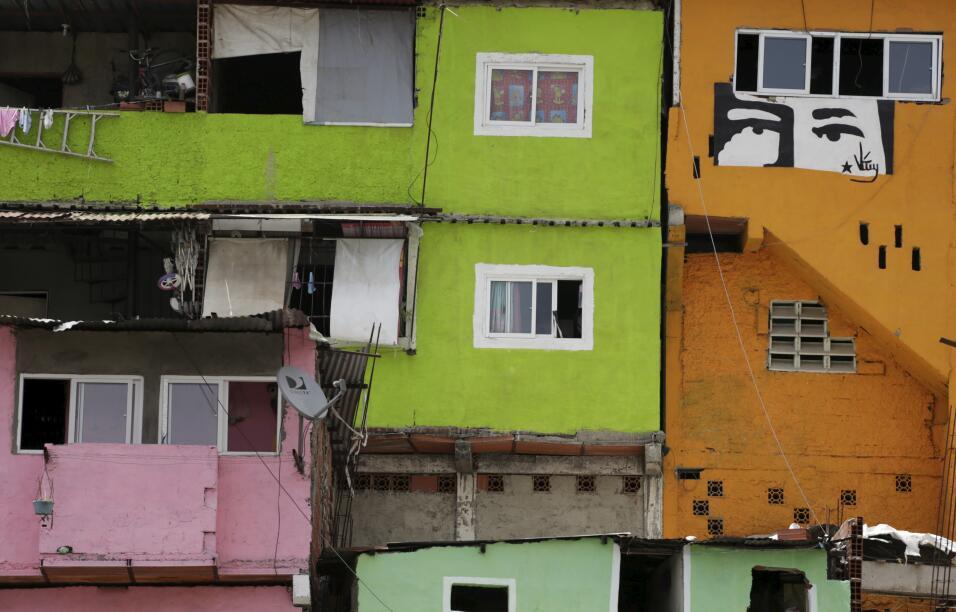El río que ha marcado las manifestaciones en Caracas es una muestra de l...