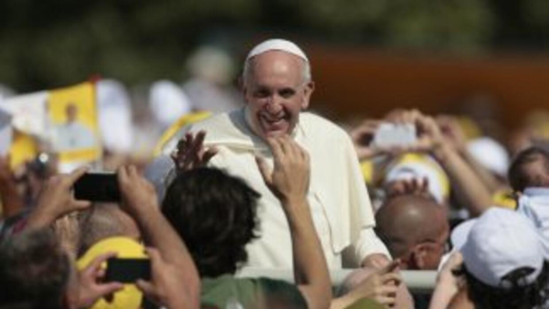 El Papa Francisco estará en tierras cariocas del 22 al 28 de julio.