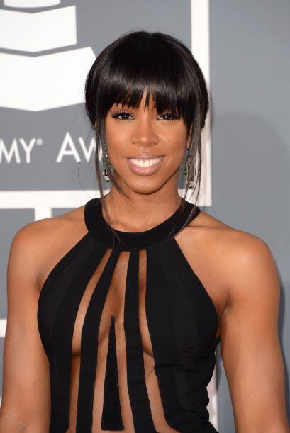 Otra que nos dejó poco a la imaginación fue Kelly Rowland, cuyas transpa...
