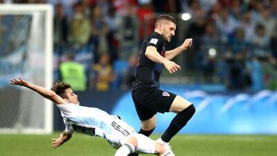 En fotos: Argentina se derrumba ante Croacia y está al borde de la eliminación