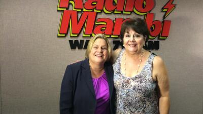 Ileana Ross-Lehtinen con Ninoska  Perez Castellon de Radio Mambí