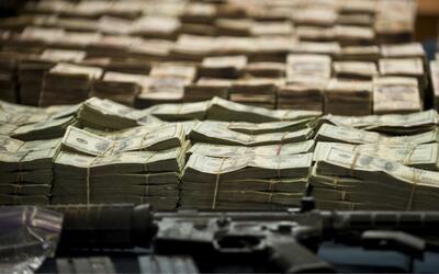 Decomiso en una operación policial contra el lavado de dinero del...