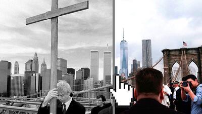 Fotografías Interactivas: Nueva York antes y después de los ataques del 11 de septiembre