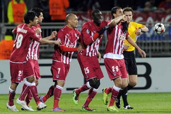 Bordeaux respondió a la primera anotación con una igualada...