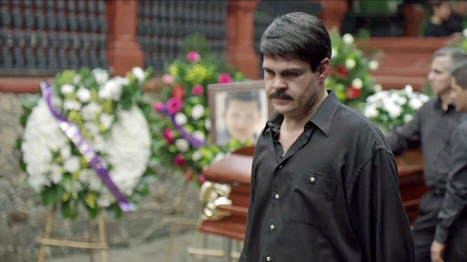 funeral El Pollo en El Chapo