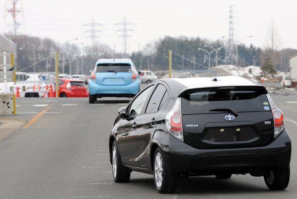 Toyota, que el mes pasado lideró las alzas de los principales fabricante...