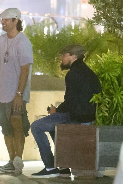 No, no es un vagabundo... es DiCaprio.