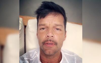 "Ricky Martin: ""Muchas bendiciones, mucha luz, mucha paz y pa' l..."