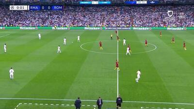 Highlights: A.S. Roma at Madrid on September 19, 2018