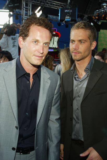 El nuevo villano en esta película era el actor Cole Hauser, posando con...