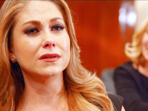 ¿Arrepentida? ¡Luciana no deja de llorar!