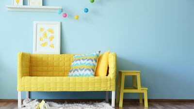 Ideas para usar el amarillo en la decoración de tu casa
