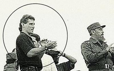 Miguel Díaz-Canel y fidel Castro