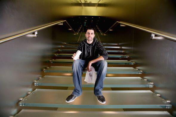 David Rahimi viajó desde California a la tienda de Apple en Sydney para...