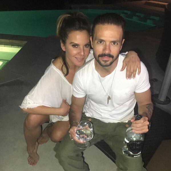 Kate del Castillo y José María Torre