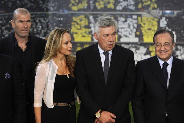 Con la partida de Mourinho, todo el entorno madridista apuntaba en su ma...