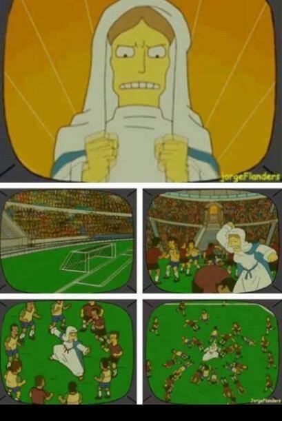 Casi los agarra a todos a golpes. Todo sobre el Mundial de Brasil 2014.