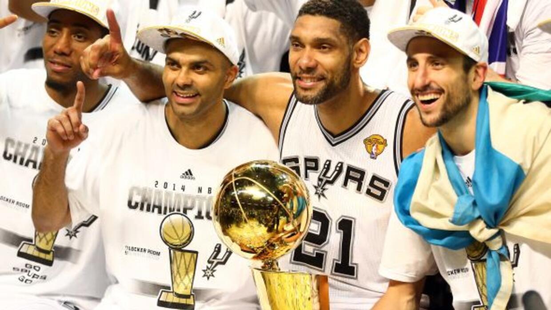 Dentro de la NBA, Tim Duncan, Emanuel Ginóbili y Tony Parker conforman u...