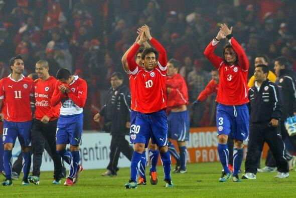 El toque desplegado por Chile en la primera rueda fue de lo mejor de la...