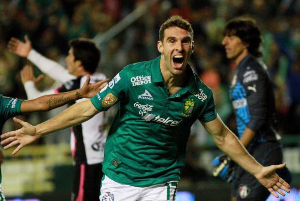 Más goles. León fue el equipo que más goles anot&oa...