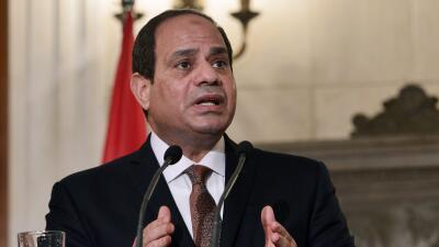El presidente egipcio, Abdelfatah al Sisi.