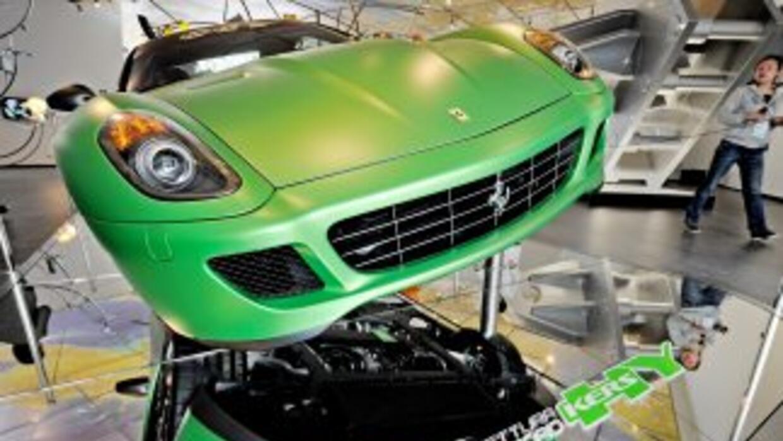El primer Ferrari híbrido podría estar basado en el 599 HY-KERS, el prot...