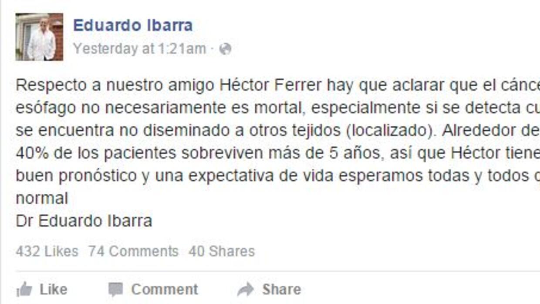 Dr Eduardo Ibarra