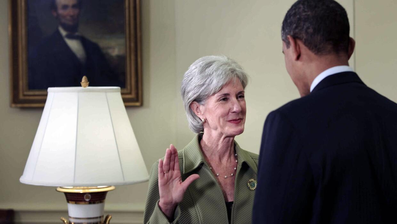 El 28 de abril de 2009 Barack Obama juramentó a la entonces gobernadora...