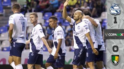 Puebla dominó a Venados y se llevó el triunfo en la Copa MX