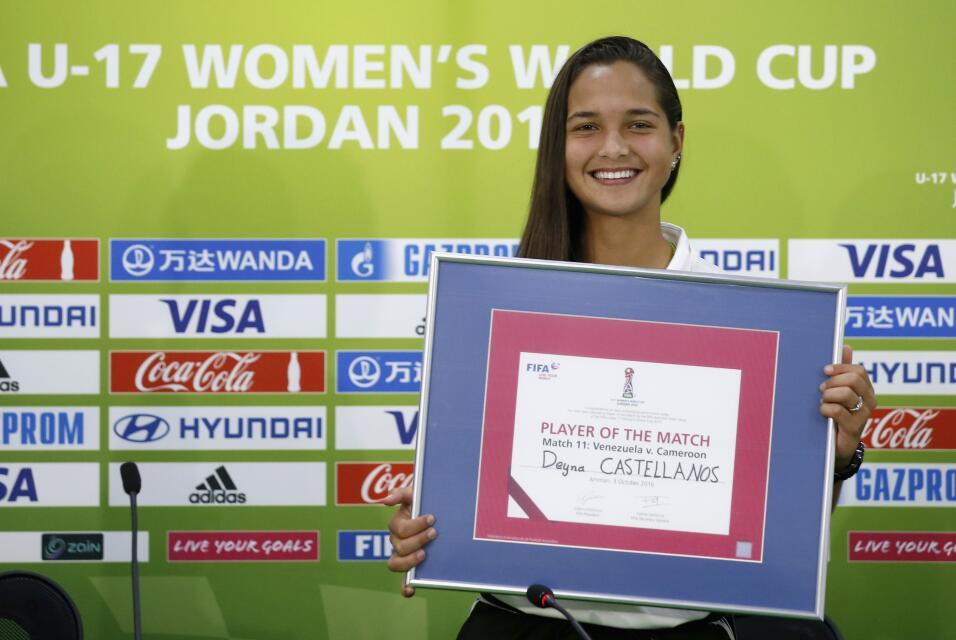 Día de la Mujer: Deyna Castellanos, la mujer que deslumbra en el fútbol:...