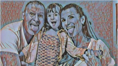 Alan Tacher y familia