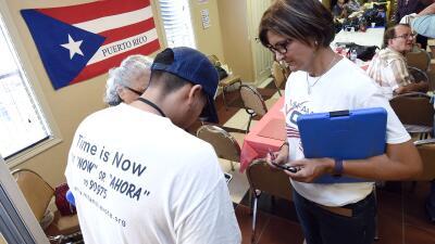 El recuerdo del huracán María marca la movilización electoral de puertorriqueños en el centro de Florida